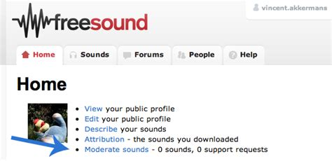 Moderated Section by Freesound Org Help Moderation Guide Tips