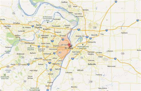 st louis zip code map st louis missouri zip code map pictures to pin on pinsdaddy
