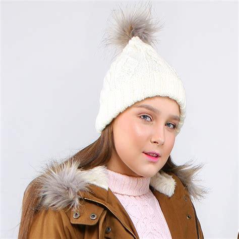 Hat Syal perlengkapan musim dingin 3 color scarf hat tb170905