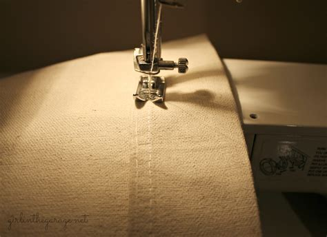 sewing machine curtains how to shorten curtains with a sewing machine