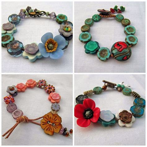 350 best jewelry button bracelets images on