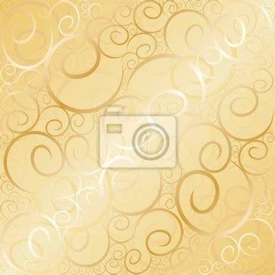 gold wallpaper stickers sticker old gold swirl wallpaper vector illustration