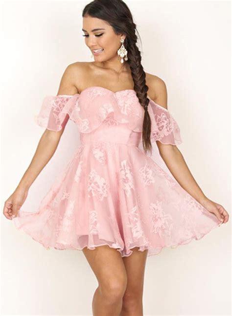Sleeve Ruffle A Line Dress shoulder sleeve ruffle a line cocktail dress