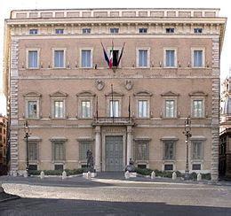 sede provincia di roma palazzo valentini