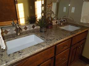 Bathroom Counter Surfaces Bathroom Countertops By Creative Surfaces Of Black