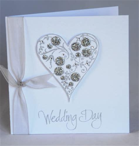 Handmade Wedding Day Cards - a gorgeous handmade wedding day card handmade by helen