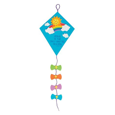 kite craft for inspirational kite door sign craft kit trading