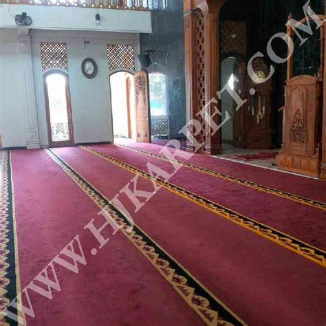 Karpet Masjid Di Bekasi karpet masjid baiturrahim mustika jaya bekasi hjkarpet