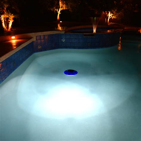Blue Wave Evolution Floating Led Solar Pool Light Floating Solar Swimming Pool Lights