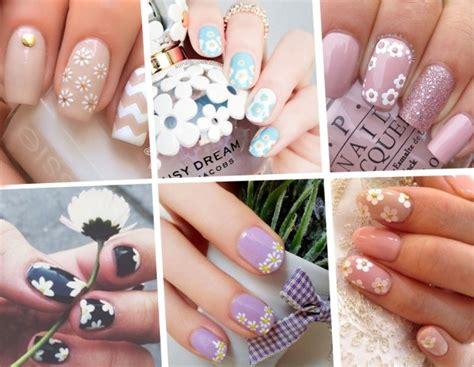 ricostruzione unghie nail fiori unghie le nail con margherite pi 249 per la