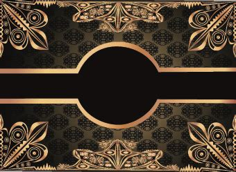 Wallpaper Stiker Motif Black And Blue Batik Ukuran 45 Cm X 10 Meter luxury gold frame labels set vector free vector in