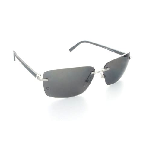 Montblanc Mb07 Silver Black mont blanc silver black sunglasses for