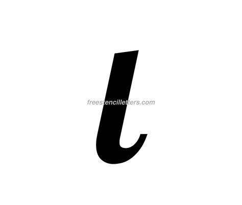 tiny l print small l letter stencil free stencil letters