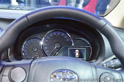 2018 chevrolet beat instrument cluster indian autos blog toyota yaris instrument panel at auto expo 2018 indian
