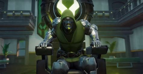 fortnite   find  giant throne  doctor doom