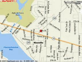 map of niceville florida niceville fl pictures posters news and on your