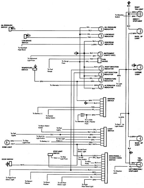 1969 chevelle horn relay wiring diagram wiring diagrams