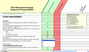 Fleet Management Report Template by Fleet Software Evaluation Selection Fleet Management System