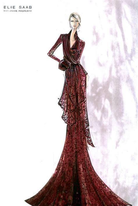 fashion illustration elie saab fashion couture elie saab sketches