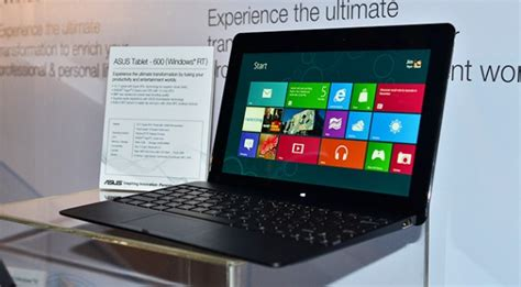 Asus Windows Rt Tablet 600 where are the windows rt arm tablets extremetech