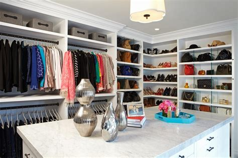 walk in closets that are the definition of organization