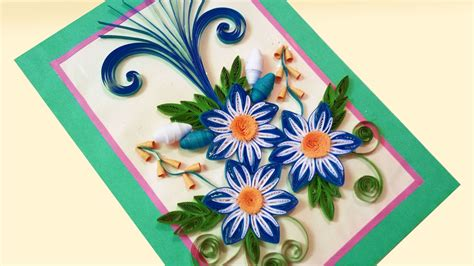How To Make A Paper Quilling Birthday Cards