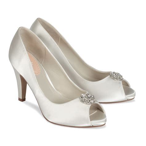 paradox pink lustre wedding shoes the wedding