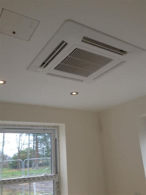 Completion Of Second Phase Of House Air Conditioning Heat Fujitsu Ceiling Cassette