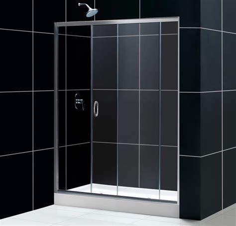 Infinity Sliding Shower Door Glass Shower Door From Dreamline Infinity Shower Door