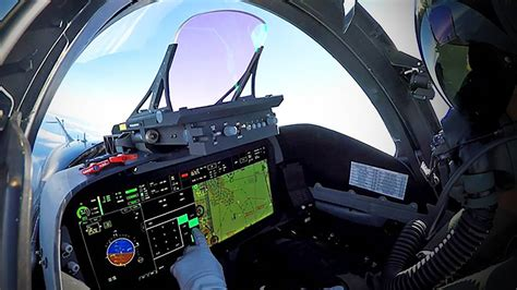 Qatar's F-15s Will Feature New 'Low Profile' Heads Up ... F 15 Cockpit