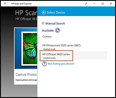 Hp Smart Document Scan Software Windows 10 hp printers using the hp scan and capture app windows