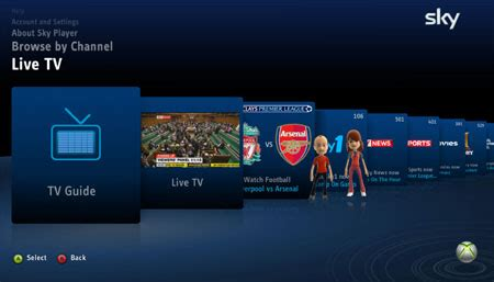 watch entertainment on demand stream live tv and box sets now tv sky dishes up iplayer style service for xbox 360 the