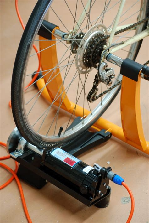 how to build your own bike generator hippie
