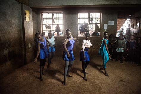 hope in a ballet children in africa s biggest slum find hope in ballet