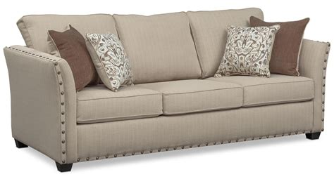 american signature sleeper sofa mckenna sofa loveseat and chair set sand american