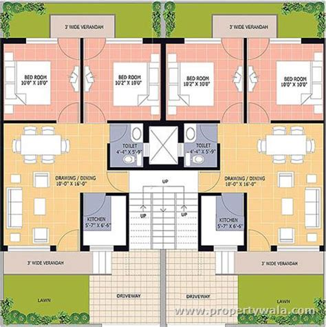 Omaxe Green Meadow City Bhiwadi Alwar Mega Highway Duplex House Plans 150 Sq Yards