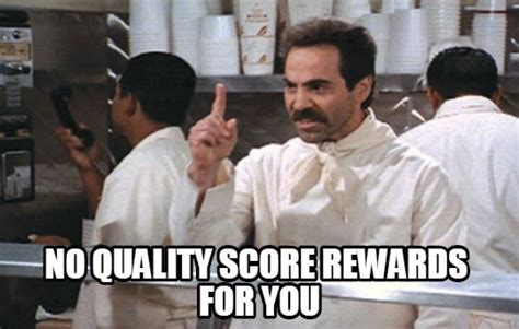 Soup Nazi Meme - linkedin ads review 8 things i hate about linkedin ads