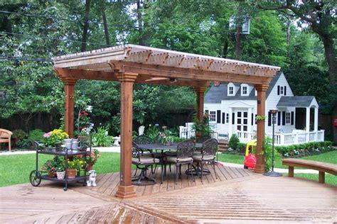 arbors pergolas wood crafters