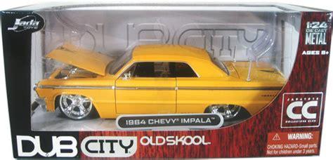 124 Chevy Ss 67 Dubcity 1964 chevy impala yellow dub city 1 24 diecast car