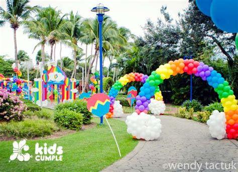 del arco hogar decoracion las 25 mejores ideas sobre globos de arco iris en