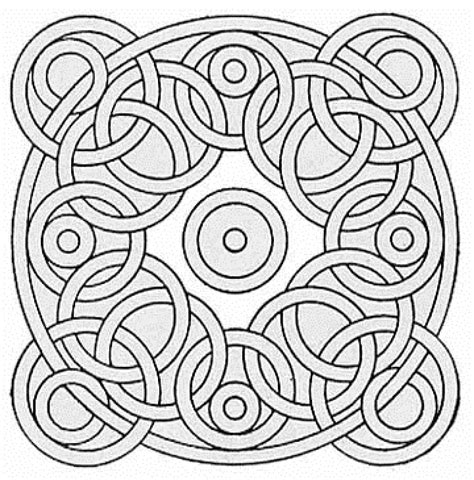 coloring page patterns mosaic patterns coloring pages az coloring pages