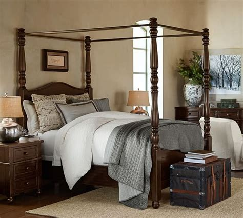 Bed And Dresser Set by Cortona Canopy Bed Dresser Set Pottery Barn