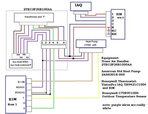 honeywell thermostat wiring diagram heat
