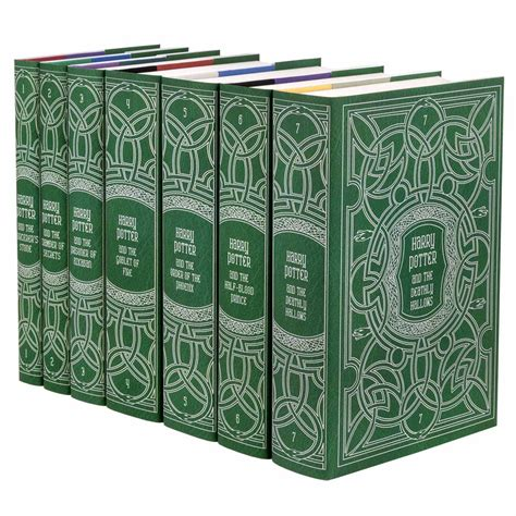The Book Of Set harry potter book sets in custom jackets juniper books