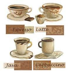 coffee kitchen decor ideas set 4 coffee placemats espresso latte decor table
