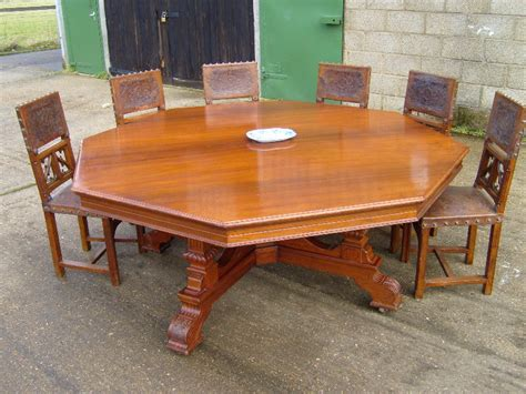 how big is a table that seats 10 antique furniture warehouse large antique table