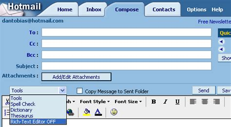 format email hotmail dan s mail format site configuration hotmail