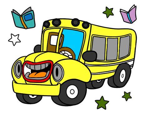 imagenes buses escolares animados autobus animados imagui