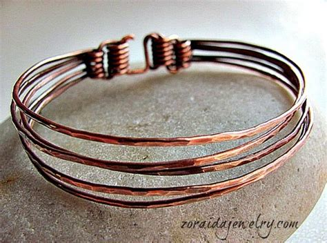 how to make copper jewelry from wire five in one copper bangle jewelry journal