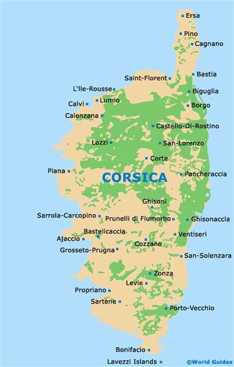 corsica map corsica maps and orientation corsica corse